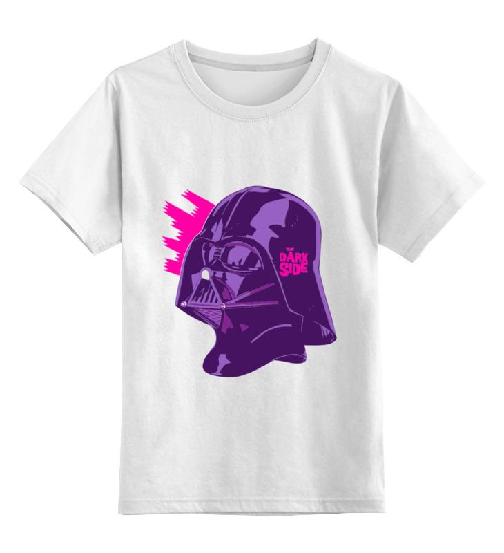 Детская футболка классическая унисекс Printio Purple vader цена