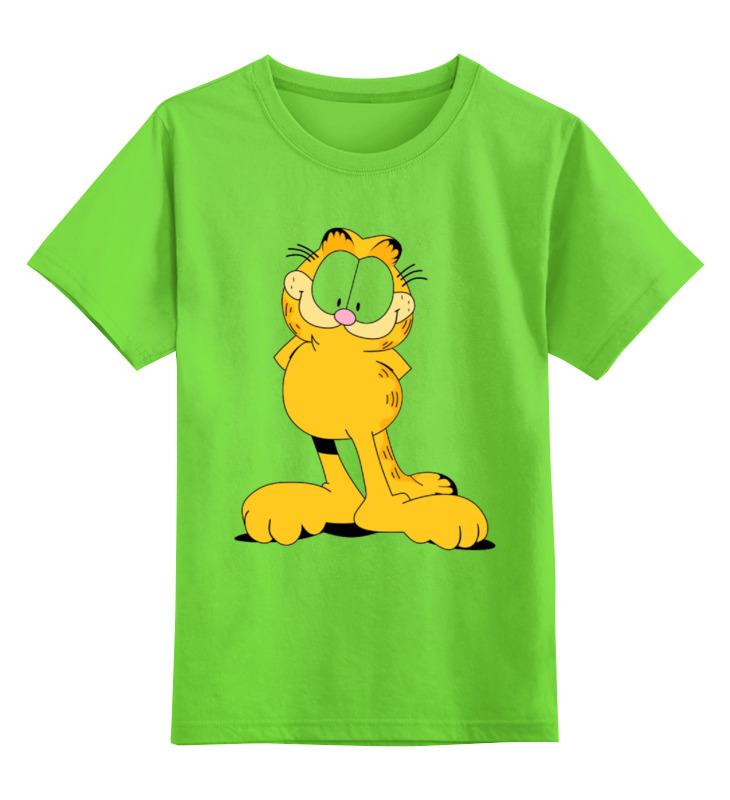 Детская футболка классическая унисекс Printio Гарфилд свитшот print bar эндрю гарфилд