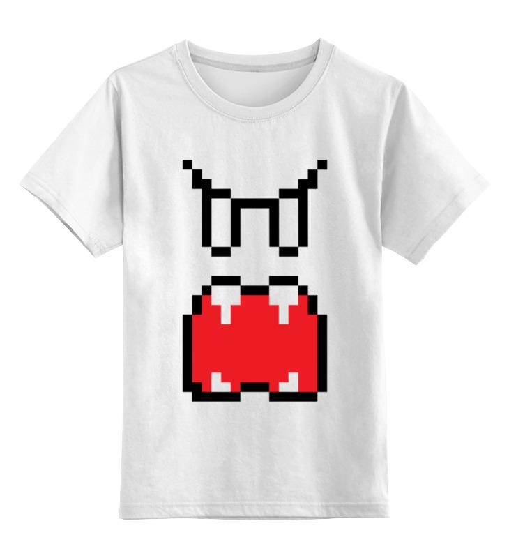 Детская футболка классическая унисекс Printio Приведение (8-бит)