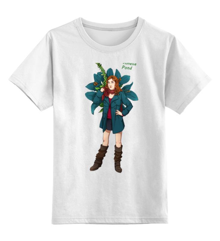 Детская футболка классическая унисекс Printio Амелия понд амелия шарики ватные n50 35 г