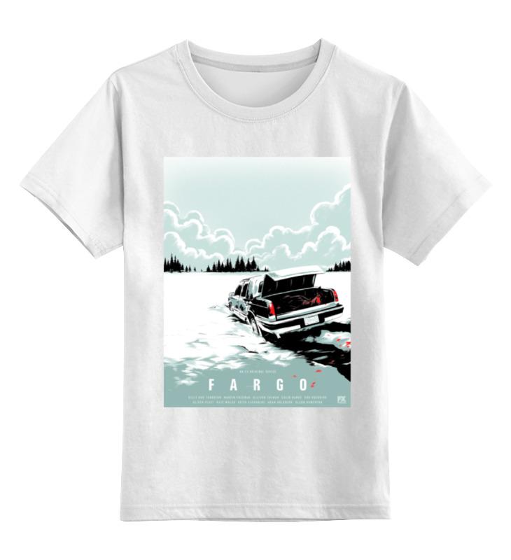 Детская футболка классическая унисекс Printio Фарго / fargo футболка классическая printio фарго fargo