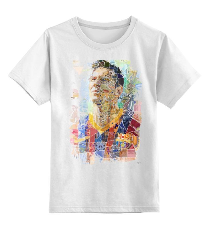 Детская футболка классическая унисекс Printio Месси