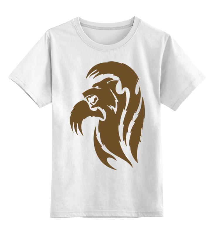 Детская футболка классическая унисекс Printio Медведь гиря iron head медведь 32 0 кг