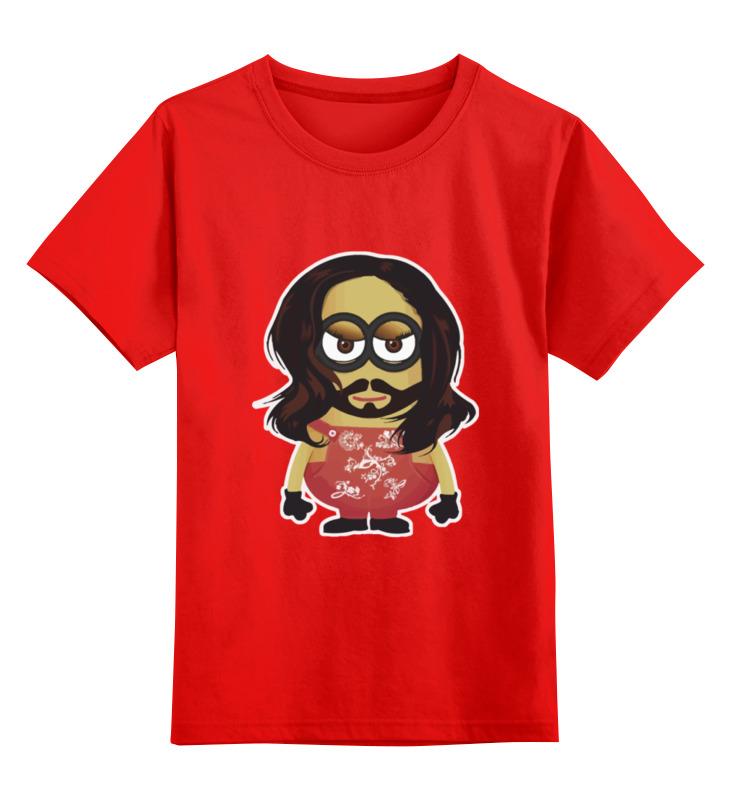 все цены на Детская футболка классическая унисекс Printio Minion conchita