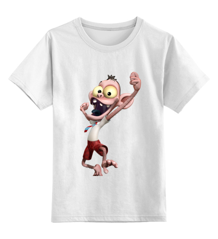 Детская футболка классическая унисекс Printio Обезьяна менеджер детская футболка классическая унисекс printio обезьяна менеджер