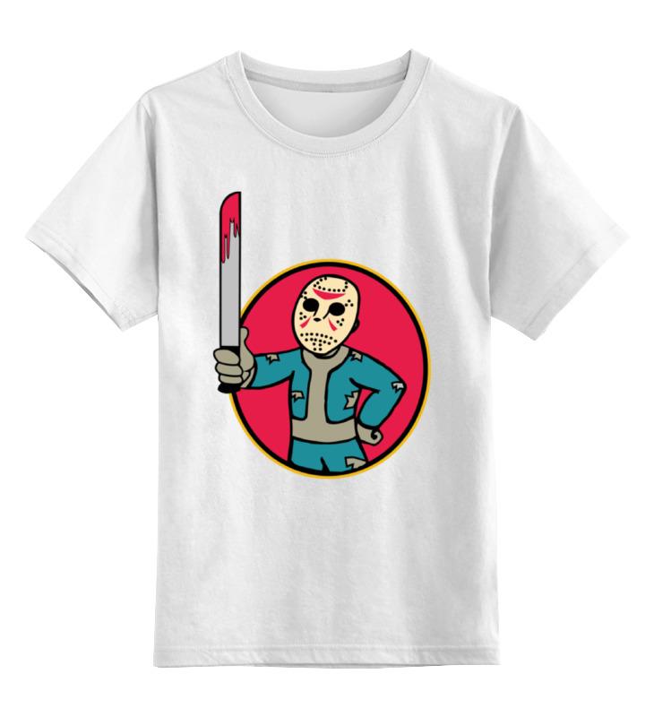 Детская футболка классическая унисекс Printio Fallout x jason