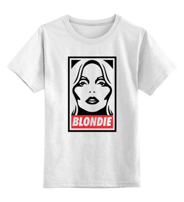Детская футболка классическая унисекс Printio Blondie little blondie sunglasses