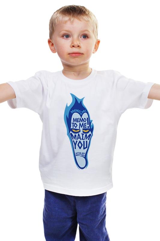 Детская футболка классическая унисекс Printio Аид (геркулес) александр иванин живые в эпоху мёртвых старик