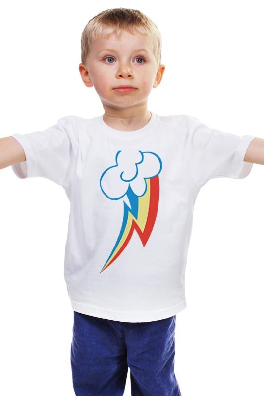 Детская футболка классическая унисекс Printio Rainbow dash / рейнбоу дэш футболка стрэйч printio rainbow dash рейнбоу дэш