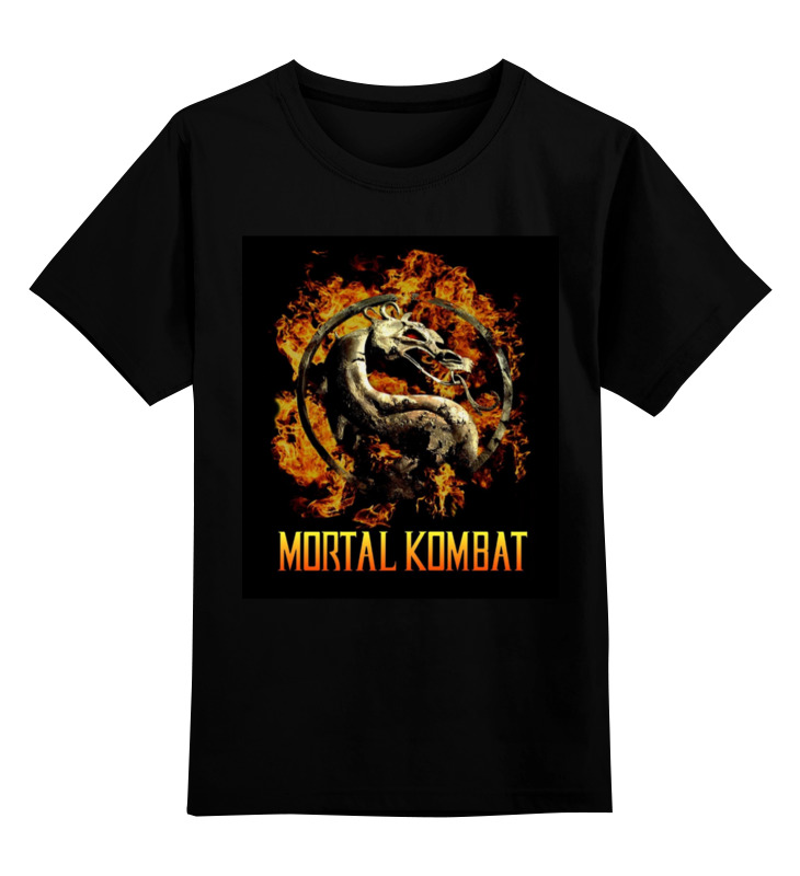 Детская футболка классическая унисекс Printio Mortal kombat свитшот унисекс хлопковый printio mortal kombat
