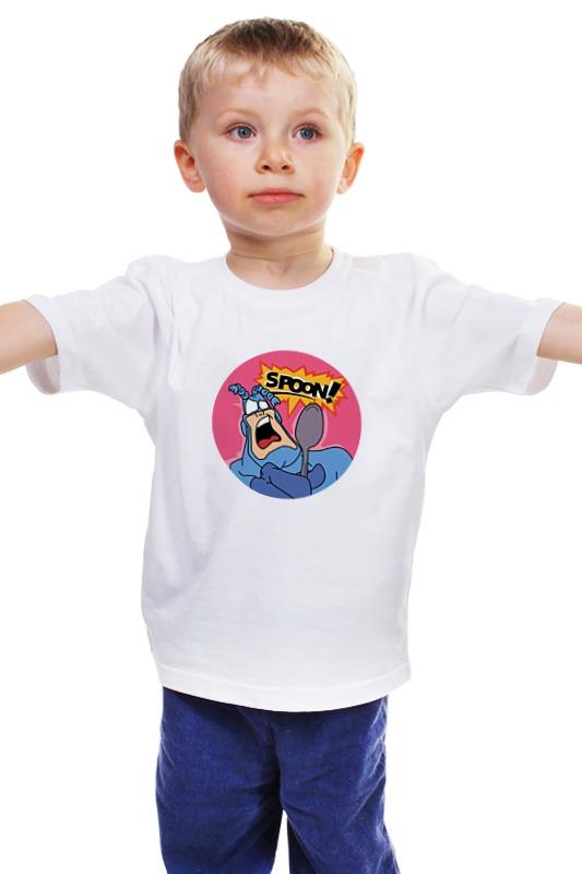 Детская футболка классическая унисекс Printio Тик (tick) детская футболка классическая унисекс printio комиксы