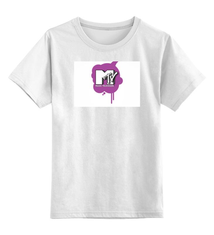 Детская футболка классическая унисекс Printio Music television футболка классическая printio ultra music