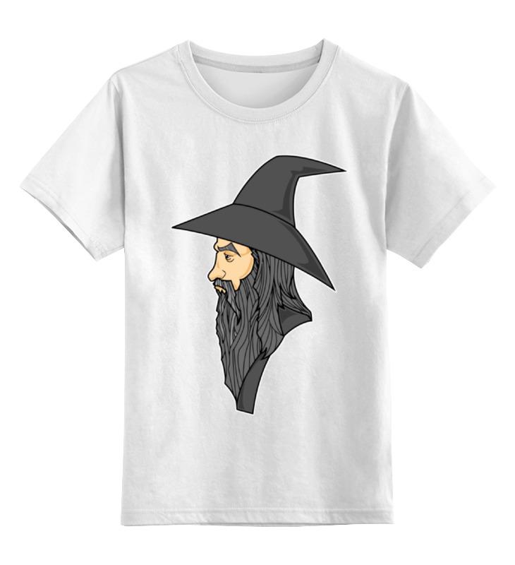 Детская футболка классическая унисекс Printio Гэндальф (gandalf) футболка стрэйч printio властелин колец lord of the ring