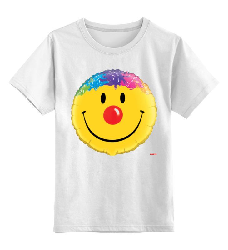 Детская футболка классическая унисекс Printio Колобок улыбающийся. смех радость. smile футболка классическая printio колобок улыбающийся смех радость smile