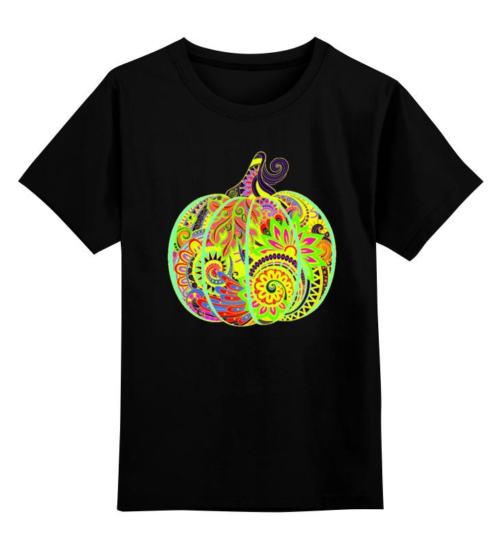 Детская футболка классическая унисекс Printio Яркая тыква семена седек тыква бутылочная декоративная