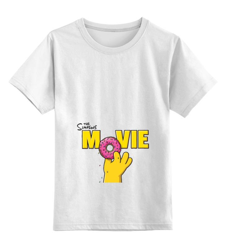 Детская футболка классическая унисекс Printio The simpsons детская футболка классическая унисекс printio the cure wish