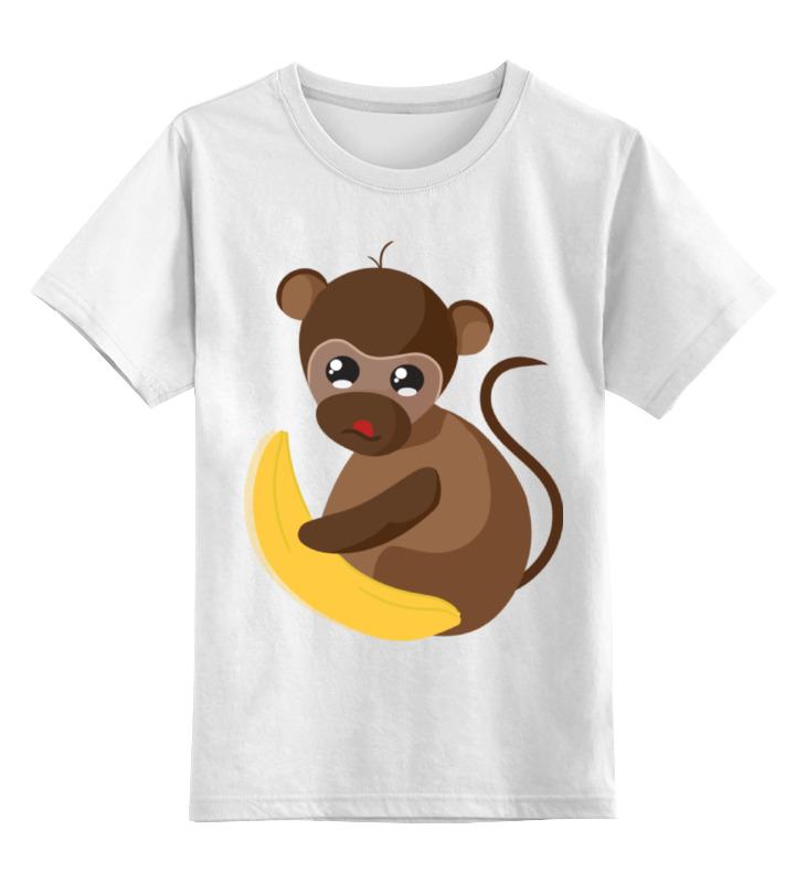 Детская футболка классическая унисекс Printio Обезьянка биззи 2016 футболка wearcraft premium slim fit printio обезьянка биззи 2016