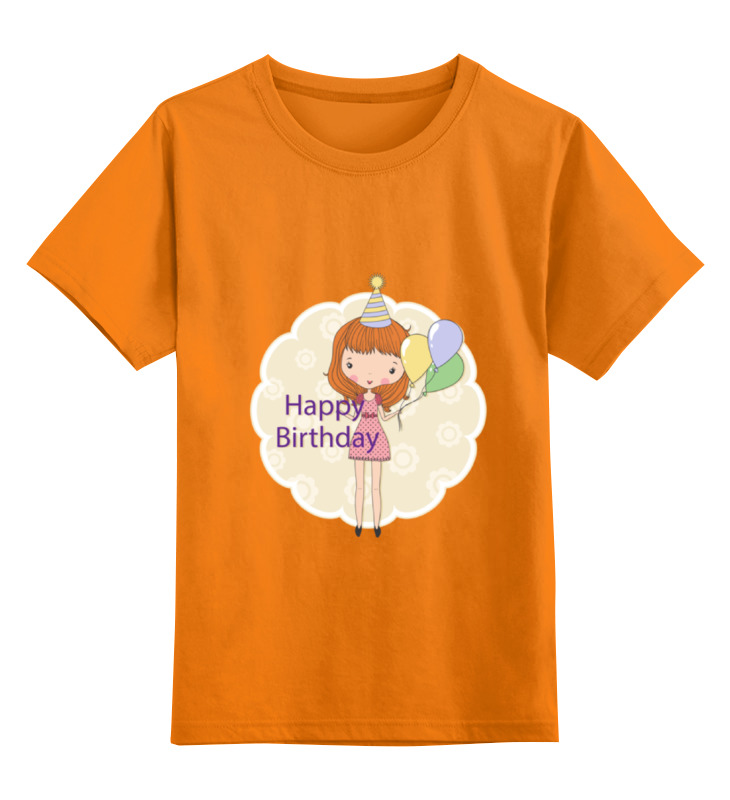 Детская футболка классическая унисекс Printio День рождения disney гирлянда детская на ленте тачки с днем рождения