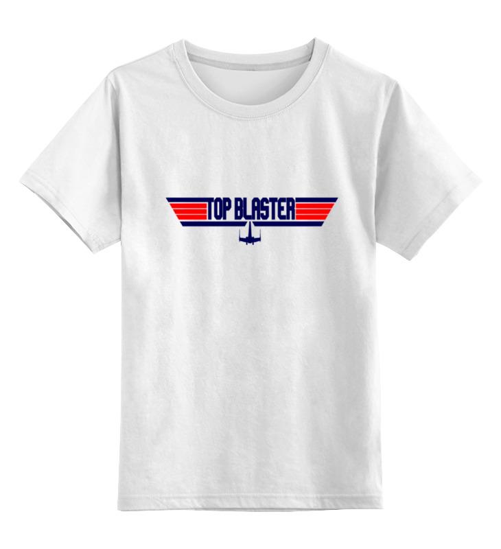 Детская футболка классическая унисекс Printio Топ бластер футболка semicvet топ