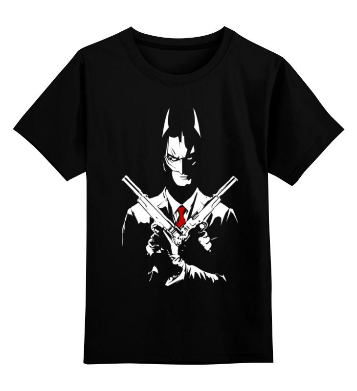 Детская футболка классическая унисекс Printio Batman x hitman видеоигра для ps4 hitman definitive edition