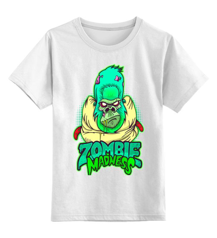 Детская футболка классическая унисекс Printio Zombie madness детская футболка классическая унисекс printio zombie soccer