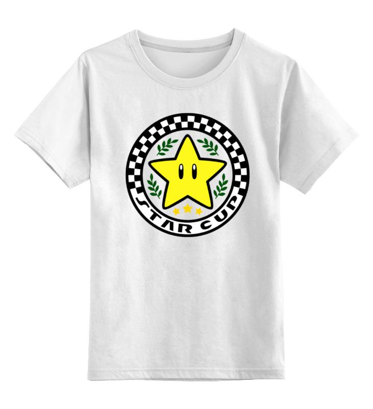 Детская футболка классическая унисекс Printio Звезда из марио детская футболка классическая унисекс printio няшная звезда