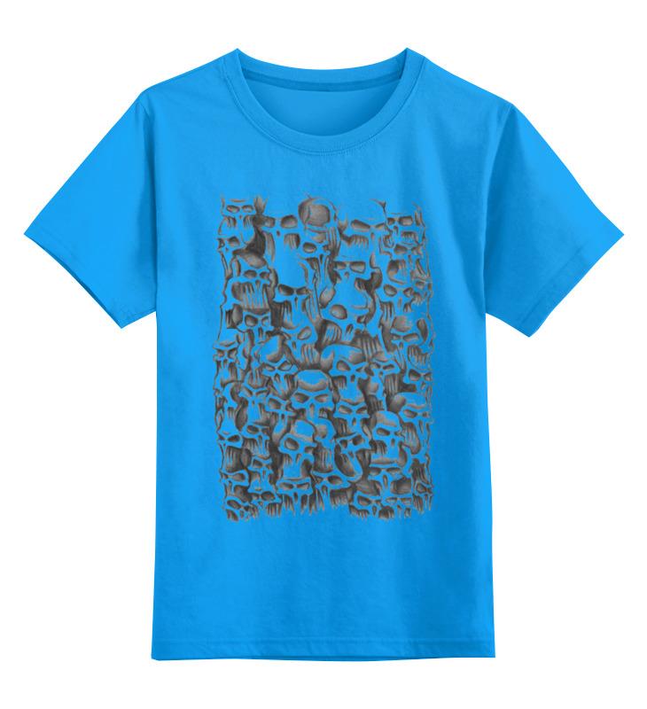 Детская футболка классическая унисекс Printio Черепа футболка классическая printio девушка и черепа с розами
