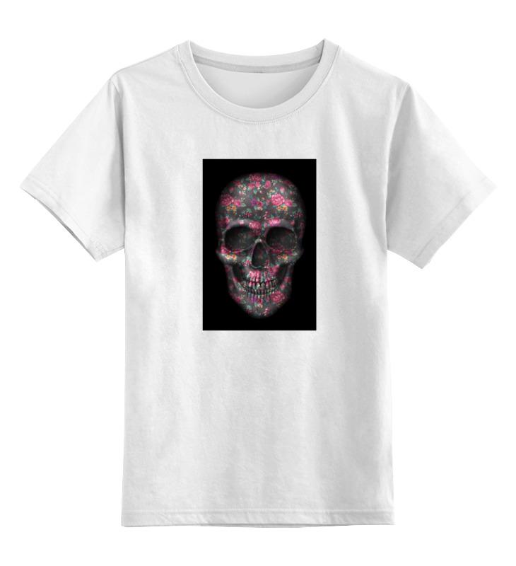 Детская футболка классическая унисекс Printio Череп детская футболка классическая унисекс printio череп цветочный