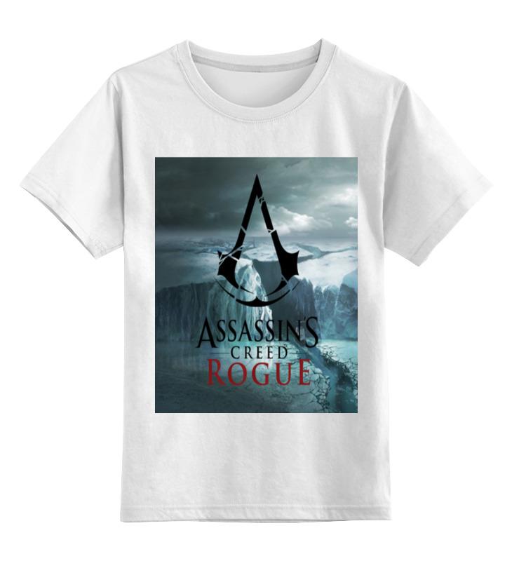 Детская футболка классическая унисекс Printio Assassins creed rogue майка классическая printio assassins creed