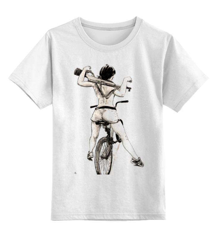 Printio Девушка, карабин, велосипед цена и фото