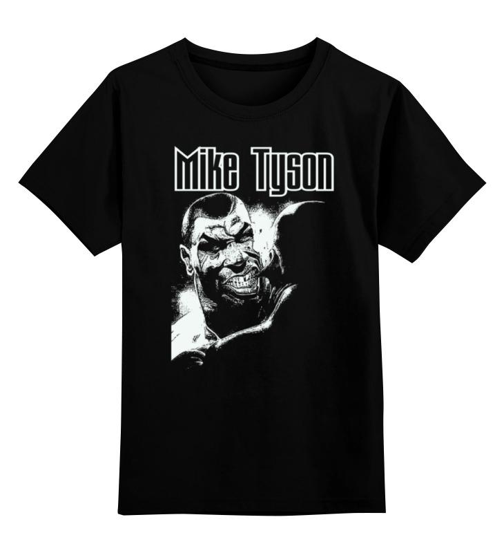 Детская футболка классическая унисекс Printio Mike tyson цена и фото