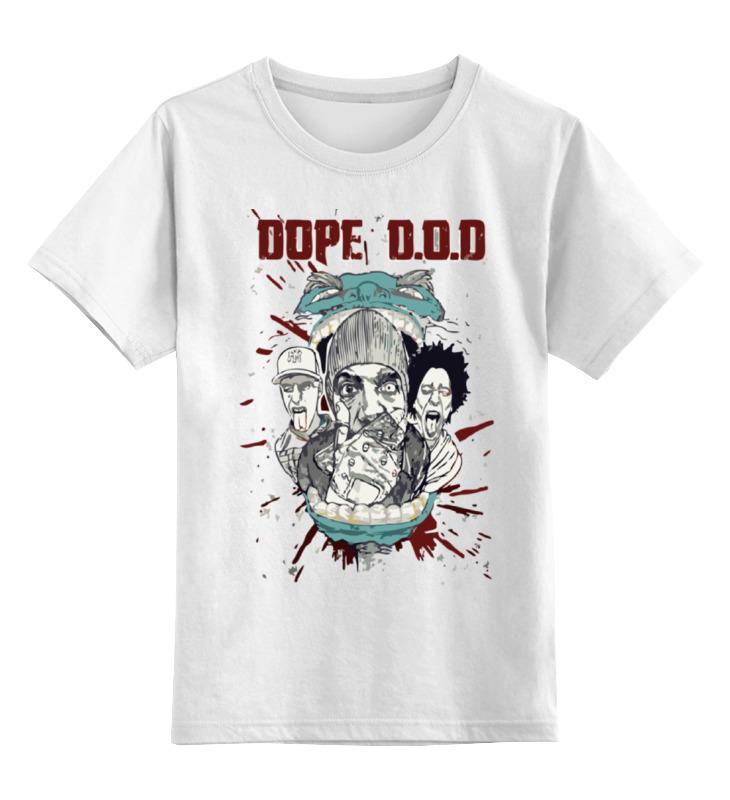 Детская футболка классическая унисекс Printio Dope d.o.d футболка классическая printio dope d o d