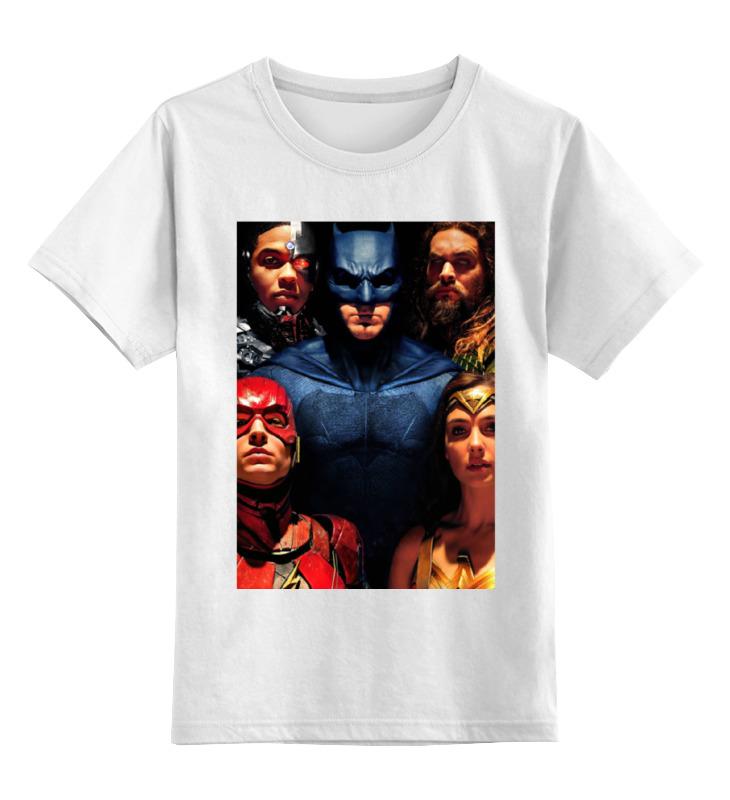 Детская футболка классическая унисекс Printio Лига справедливости / justice league футболка классическая printio the justice league