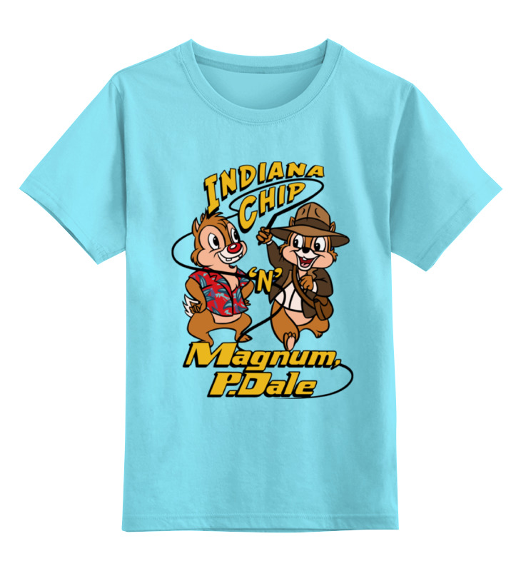 Детская футболка классическая унисекс Printio Indiana jones x chip 'n' dale free shipping 5pcs gf go7400 n a3 7300 630 7200 0 5mm steel chip size in stock
