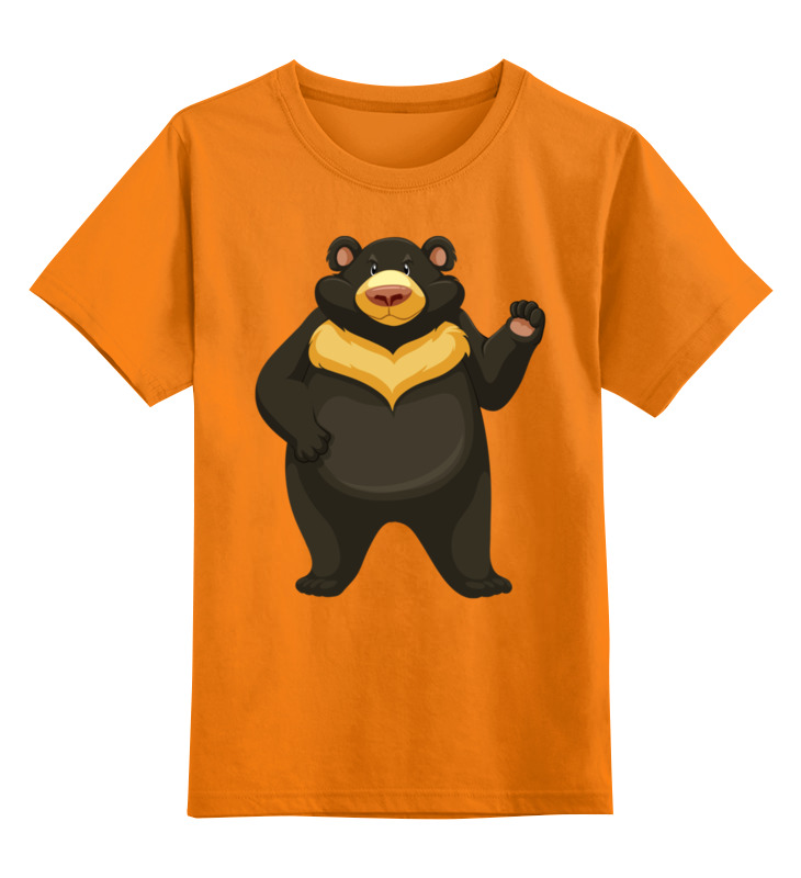 Детская футболка классическая унисекс Printio Медведь детская футболка классическая унисекс printio бразилия