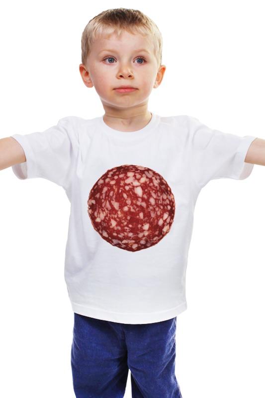 Детская футболка классическая унисекс Printio Колбаса