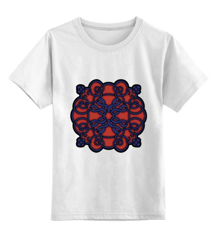лучшая цена Детская футболка классическая унисекс Printio Кельтский орнамент
