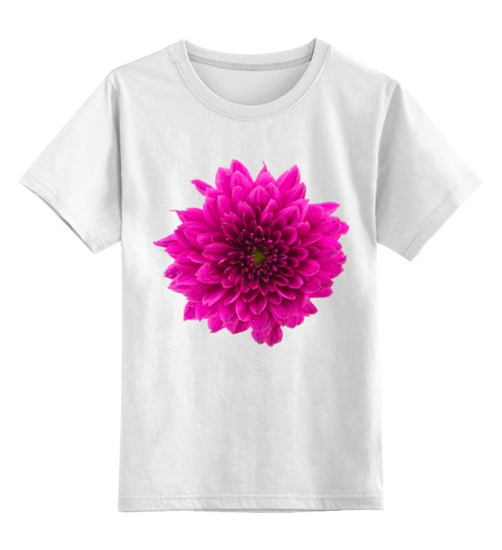 Детская футболка классическая унисекс Printio Хризантема