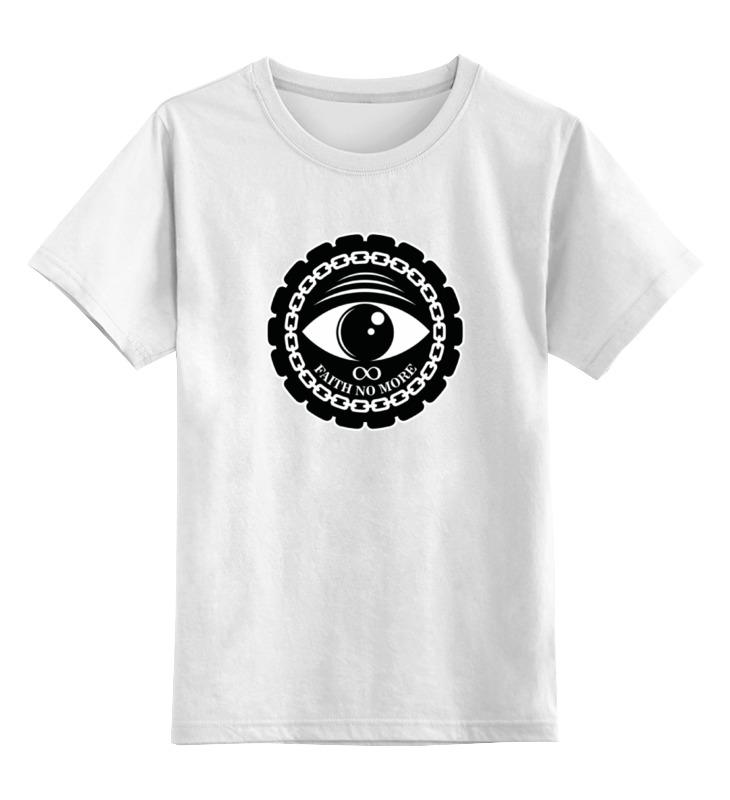 Детская футболка классическая унисекс Printio Faith no more faith no more