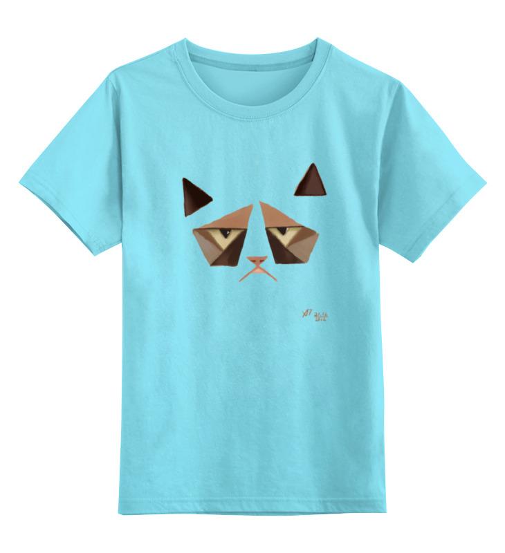 Детская футболка классическая унисекс Printio Сердитый котик / grumpy cat (art nouveau) tarot art nouveau таро галерея в футляре улучшенная твердая бумага