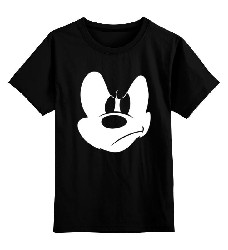 Детская футболка классическая унисекс Printio Angry mickey