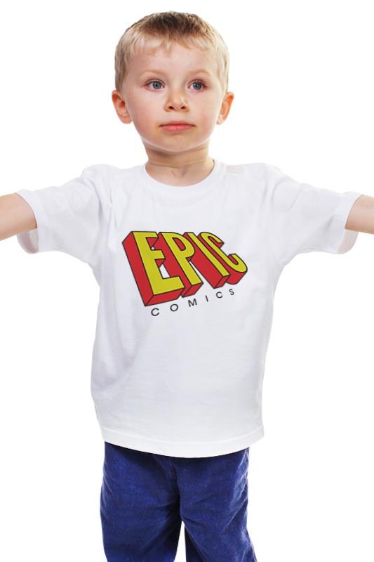 Детская футболка классическая унисекс Printio Эпичные комиксы детская футболка классическая унисекс printio комиксы