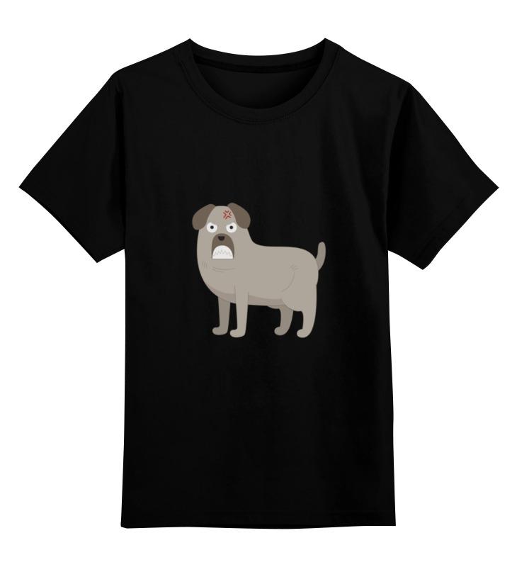 Детская футболка классическая унисекс Printio Злой пёс детская футболка классическая унисекс printio умный пёс