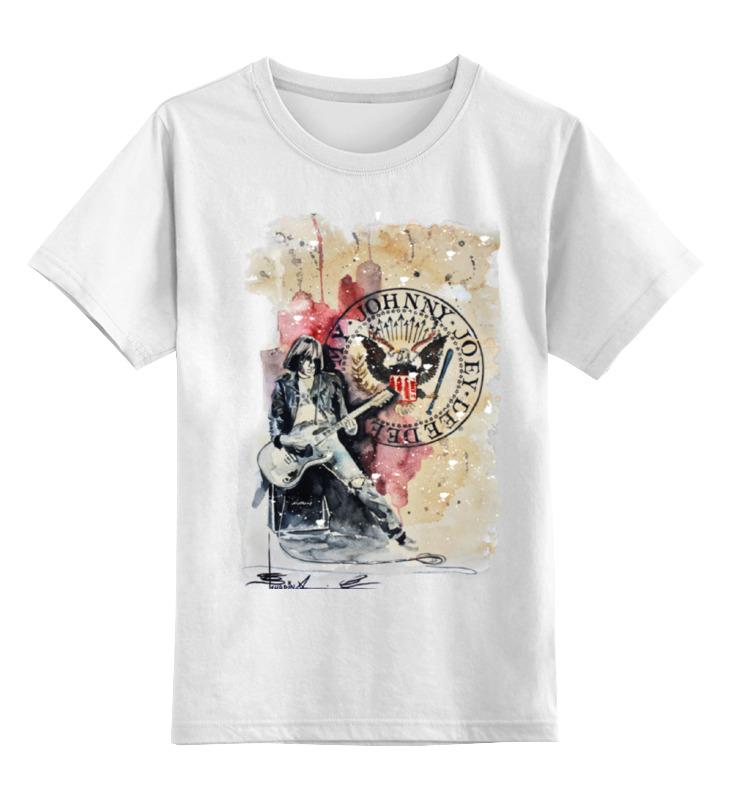 Детская футболка классическая унисекс Printio Ramones майка классическая printio ramones
