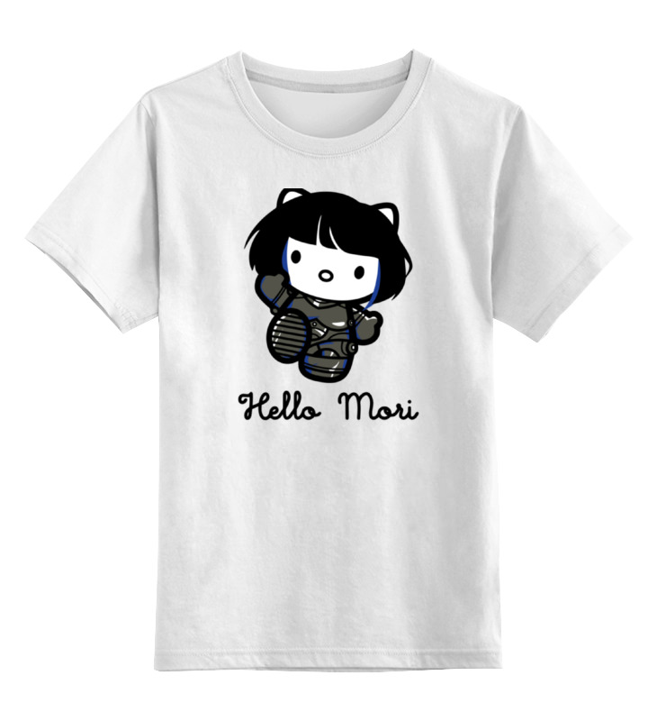 Детская футболка классическая унисекс Printio Мако мори (тихоокеанский рубеж)