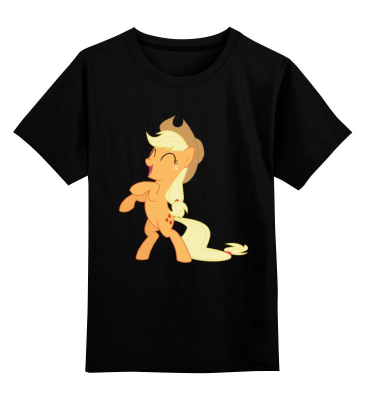 Детская футболка классическая унисекс Printio Applejack fun футболка классическая printio applejack fun