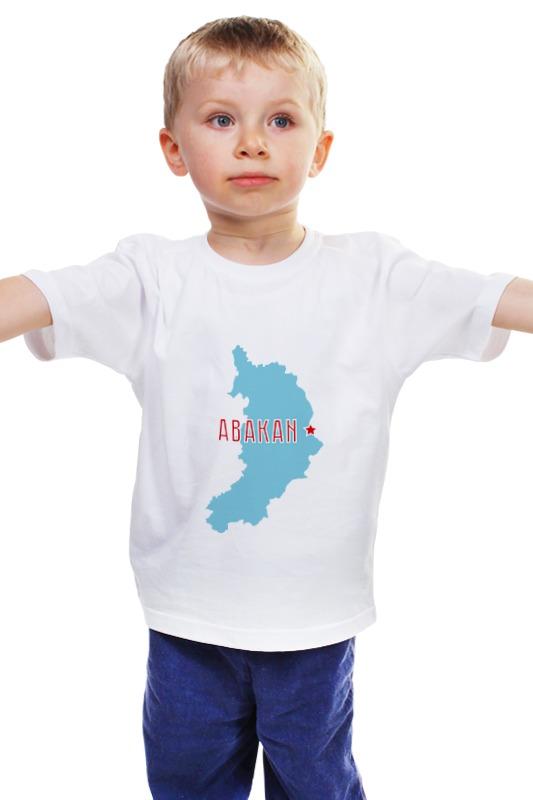 Детская футболка классическая унисекс Printio Республика хакасия. абакан газ 66 республика хакасия