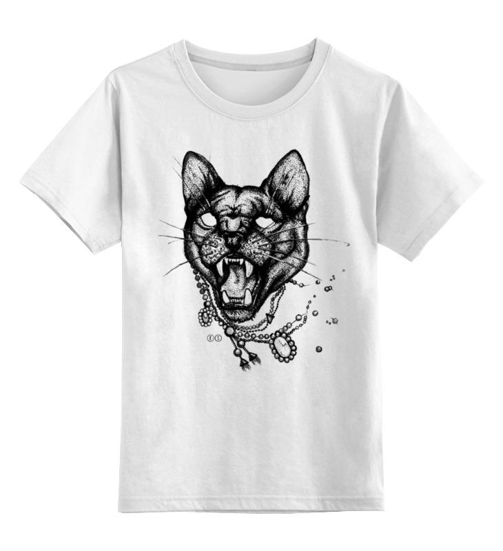 Детская футболка классическая унисекс Printio Пантера цена и фото