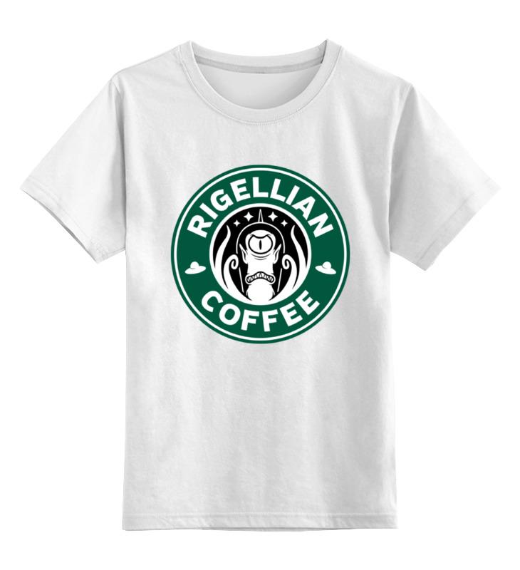Детская футболка классическая унисекс Printio Инопланетянин (футурама) детская футболка классическая унисекс printio футурама