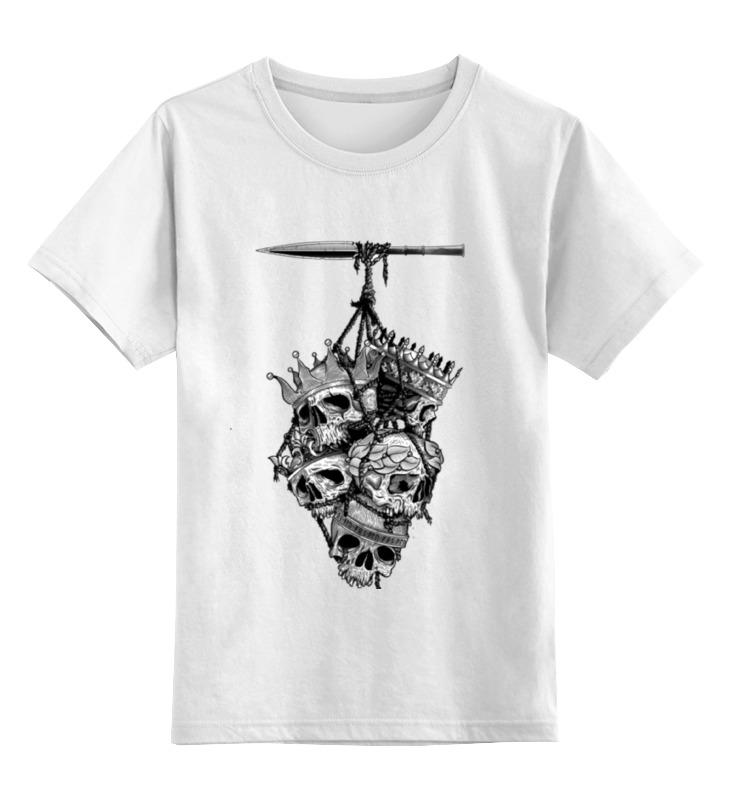 Детская футболка классическая унисекс Printio Король королей детская футболка классическая унисекс printio король панда